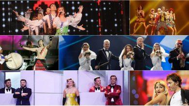 Photo of video | Unii au ocupat locuri de frunte, iar alții nu au trecut în finală. Artiștii care ne-au reprezentat țara la Eurovision din 2005 până în 2019