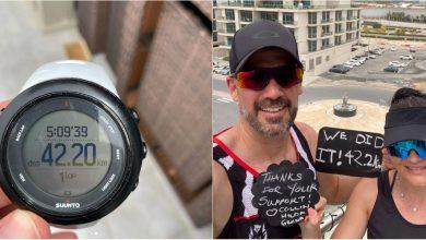 Photo of foto, video | Un cuplu și-a organizat propriul maraton la balconul casei. Aceștia au alergat 42 de km
