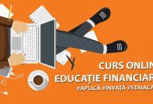 Photo of Curs online de educație financiară. Aplică acum și află cum să câștigi bani pe vreme de pandemie