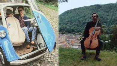 Photo of foto, video | Un muzician din Moldova vrea să descopere Transilvania împreună cu violoncelul său! Tu poți fi cel care îl va ajuta să își realizeze visul