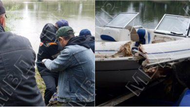 Photo of foto | O barcă a naufragiat în această noapte pe Nistru. Un bărbat, găsit fără suflare