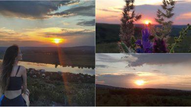 Photo of foto | O minge de foc și nuanțe pastelate pe cerul Moldovei. Cum s-a văzut apusul de aseară pe rețelele de socializare?