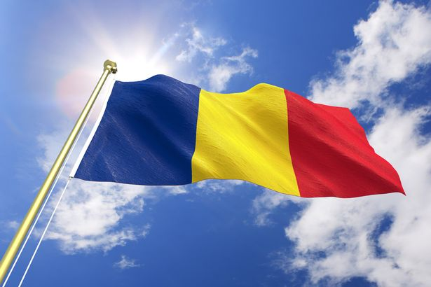 romania tricolor