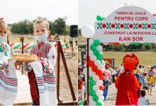 Photo of foto | Șor a lansat un nou proiect social. Își propune să construiască un teren de joacă pentru copiii din fiecare sat
