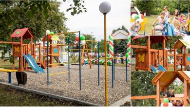 Photo of foto   Partidul ȘOR anunță darea în exploatare a celui de-al doilea teren de joacă în satul Constantinovca, raionul Edineț