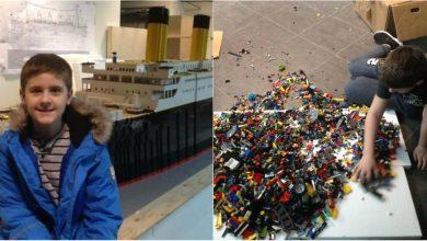 Photo of foto | Cea mai mare replică a vasului Titanic, construită de un băiat care suferă de autism