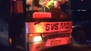 Photo of video | Un autobuz de pe ruta Ceadîr-Lunga – Moscova, accidentat lângă Odesa. În vehicul se aflau 39 de pasageri