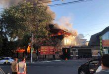 Photo of update | Incendiul de aseară la Bubuieci: Șase echipaje de pompieri au luptat cu flăcările. Două butelii de gaz – evacuate