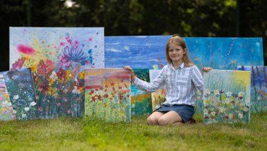 Photo of foto | Picturile ei salvează vieți! O fetiță de 10 ani a adunat 50.000 de lire sterline pentru a-i ajuta pe cei bolnavi de cancer