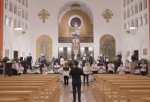 Photo of video   Independența Moldovei, sărbătorită și în Spania! Un cor, condus de conaționalul Ion Brătescu, a cântat imnul țării în limba lor