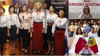 """Photo of video   """"Limba noastră"""" a răsunat în China, Italia, Spania și alte țări. Mai multe personalități străine au recitat versuri din poezie"""