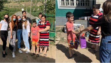 Photo of foto | Au adus fericire într-o familie în care mama suferă de tumoare cerebrală, iar tatăl a decedat de COVID-19. Gestul tinerilor de la Interact