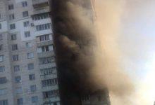 Photo of foto | Incendiu pe o stradă de la Botanica! Un bloc s-a umplut cu fum