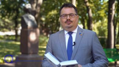 Photo of video   Ambasadorul UE în Republica Moldova, Peter Michalko, a recitat o poezie în limba română. Acesta a ales versuri eminesciene