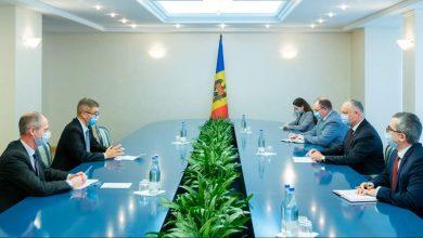 Photo of video | Dodon, la sfat cu ambasadorul Marii Britanii: Moldova este interesată în negocierea unui Acord de Parteneriat Politic și Comerț post-brexit