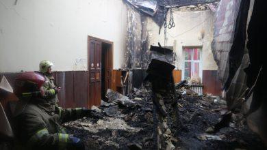 Photo of foto | Cum arată interiorul Filarmonicii Naționale după incendiu. Imagini cu sala de concerte și culoarul acesteia