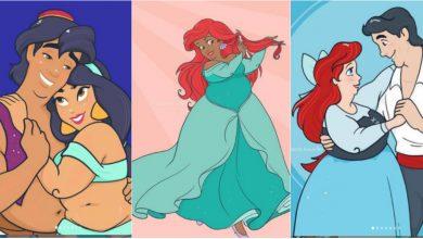 Photo of foto | Recunoști aceste eroine ale poveștilor Disney? Așa ar fi arătat Ariel dacă era afroamericană, iar Jasmine – grăsuță