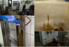 Photo of foto, video | Cadă plină de rugină și încăperi murdare. Cum se îmbutelia apa minerală la o întreprindere din Bălți?