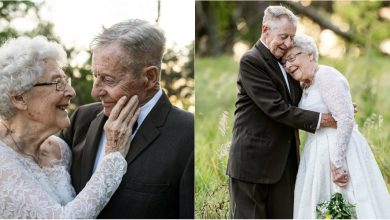 Photo of foto | La fel de îndrăgostiți și după 60 de ani petrecuți alături. Felul inedit prin care un cuplu și-a sărbătorit aniversarea nunții