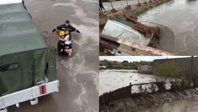 Photo of foto, video | Încăperi inundate, poduri rupte și oameni evacuați de salvatori. Ploile de azi au făcut prăpăd în mai multe raioane