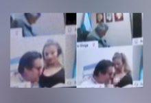Photo of video | Credea că nu este conectat. Un deputat, surprins în ipostaze fierbinți cu soția chiar în timpul ședinței Parlamentului