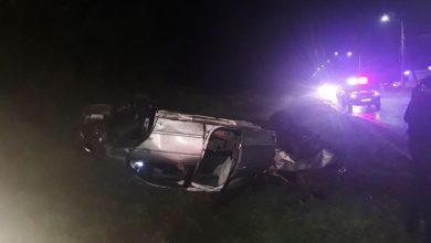 Photo of Trei persoane au ajuns la spital după ce mașina în care se aflau a derapat. Șoferul era în stare de ebrietate și nu avea permis
