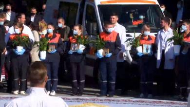Photo of video | Medicii, onorați de hramul Chișinăului. Au primit icoane și mesaje de încurajare