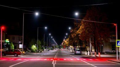 """Photo of """"Localitatea a devenit și mai sigură"""". Toate străzile principale din Orhei s-au ales cu treceri pietonale iluminate la inițiativa lui Ilan Șor"""