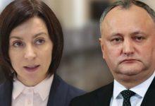 Photo of sondaj | Maia Sandu și Igor Dodon ar fi politicienii în care moldovenii au cea mai mare încredere
