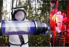 Photo of foto | Operațiune ca în filmele de ficțiune. Sute de viespi ucigașe au fost prinse de biologi în costume speciale