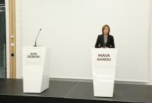 """Photo of Dezbaterea care nu a mai avut loc. Igor Dodon a refuzat invitația Maiei Sandu la o """"dezbatere națională"""""""
