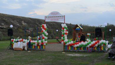 Photo of foto   Echipa lui Ilan Șor a dat în exploatare patru terenuri de joacă în localități din raionul Orhei