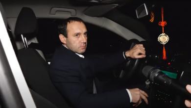 Photo of video   Președintele raionului Fălești și jurnaliștii care l-au surprins că ar fi urcat băut la volan au fost audiați de Poliție