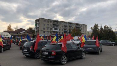 Photo of video | Pe mai multe trasee din țară au avut loc marșuri automobilistice pentru susținerea lui Dodon. Unii participanți ar fi fost plătiți