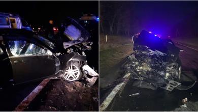 Photo of foto | Accident pe traseul Chișinău-Leușeni: O persoană a decedat, iar patru au ajuns la spital