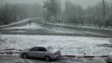 Photo of foto | Primii fulgi la sudul republicii. Mai multe raioane, acoperite de zăpadă