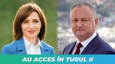 Photo of Tragem linia. Maia Sandu și Igor Dodon se vor duela în turul doi al alegerilor prezidențiale