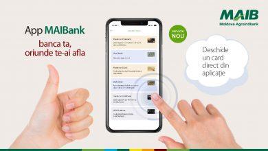 Photo of Nou de la Moldova Agroindbank: Deschide un card direct de pe telefon