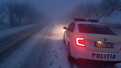 Photo of foto | Ninge abundent la Ștefan Vodă. Autospecialele, implicate la deszăpezire
