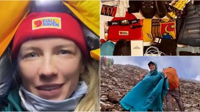 Photo of foto | Viața bate filmul! O moldoveancă escaladează muntele Kilimanjaro și împărtășește aventura ei pe Instagram