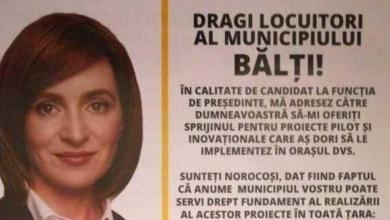 Photo of doc | Plângere la Poliție pe numele lui Dodon, după ce la Bălți ar fi fost distribuite pliante denigratoare din numele Maiei Sandu