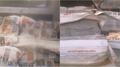 Photo of video | Mai multe ziare electorale a lui Igor Dodon, descoperite la o editură de stat. Candidatul, acuzat că folosește resursele administrative