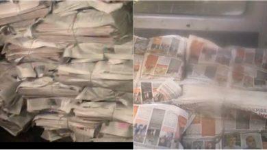Photo of doc | PAS s-a adresat la CEC și PG după ce la editura Universul au fost găsite ziare electorale ale lui Igor Dodon