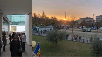 Photo of Rânduri la secțiile de votare din mai multe orașe italiene. Conaționalii sunt direcționați spre alte birouri electorale