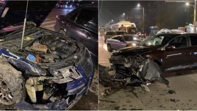 Photo of foto | Accident grav la Buiucani, produs cu câteva minute în urmă