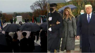 Photo of video | Donald și Melania Trump, prima apariție în public după alegerile prezidențiale din SUA