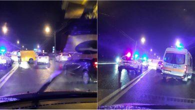 Photo of foto | Circulația spre Ciocana, îngreunată: Pe strada Alecu Russo s-au produs două accidente. Ambulanța, la fața locului