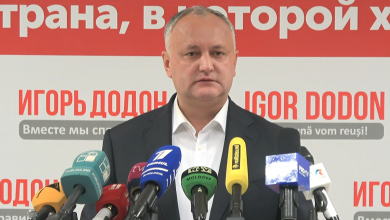 Photo of video | Dodon spune că va anunța, în 2-3 zile, schimbări de politică internă: Datele arată că am câștigat în interiorul țării