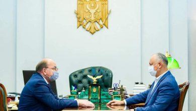 """Photo of Dodon, la o întrevedere cu ambasadorul Rusiei, constată """"realizarea unui nivel nou al dialogului strategic dintre cele două state"""""""