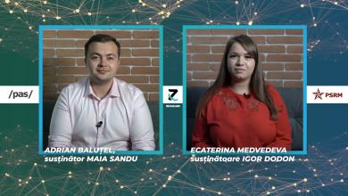 Photo of video | #dece (nu) Igor Dodon și #dece (nu) Maia Sandu? Argumentele susținătorilor celor doi candidați într-un interviu dublu